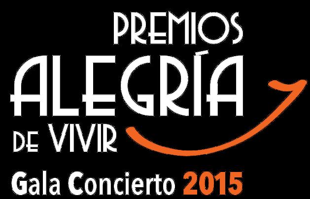 PREMIOS ALEGRIA DE VIVIR 2015